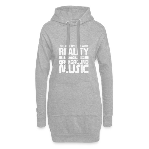 Reality and Music - Hoodie Dress