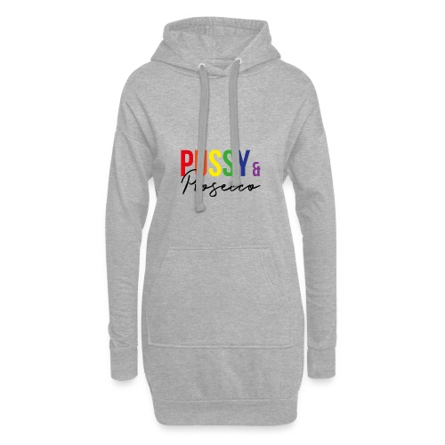 Pussy and Prosecco Rainbow Gay Pride - Hoodie Dress