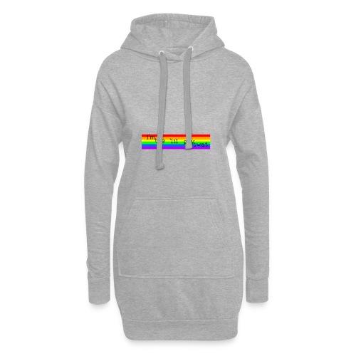 I'M THE 'IIL GAY TWAT - pride design - Hoodie Dress