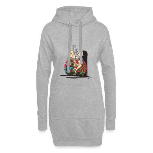 Meerjungfrau - Hoodie-Kleid