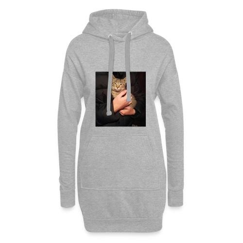 Katze - Hoodie-Kleid