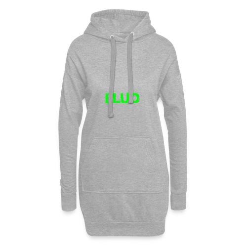 FLUO_trasparente - Vestitino con cappuccio