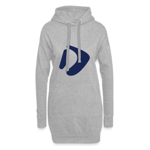 Logo D Blue DomesSport - Hoodie-Kleid