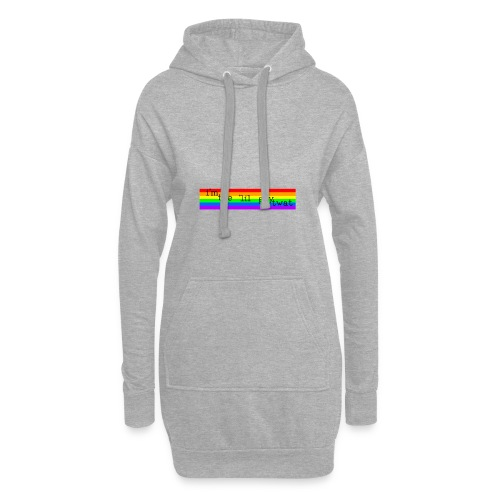 I'M THE 'IIL GAY TWAT - pride design - Hoodie Dress