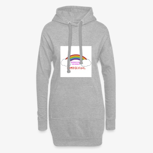 ironic clothes mocking those with extremist veiws - Hoodie Dress