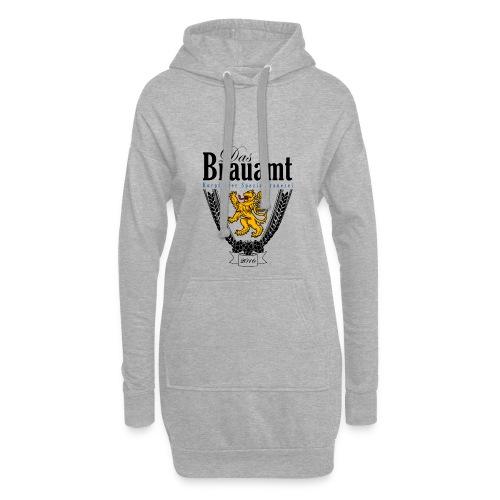 Brauamt Logo schwarz - Hoodie-Kleid