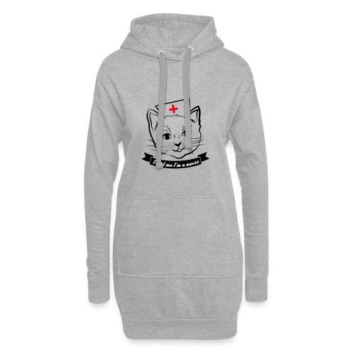 KrankenSisters Katze JK - Hoodie-Kleid