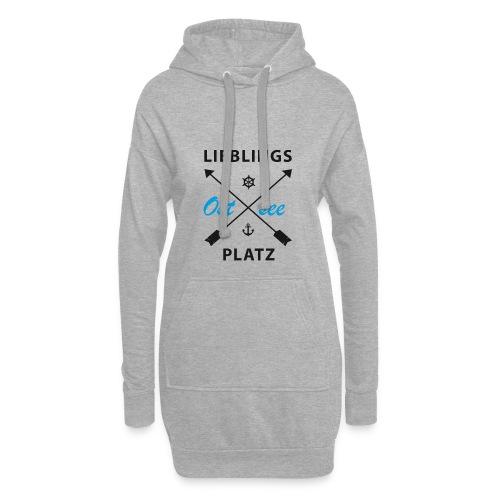Lieblingsplatz Ostsee - Hoodie-Kleid