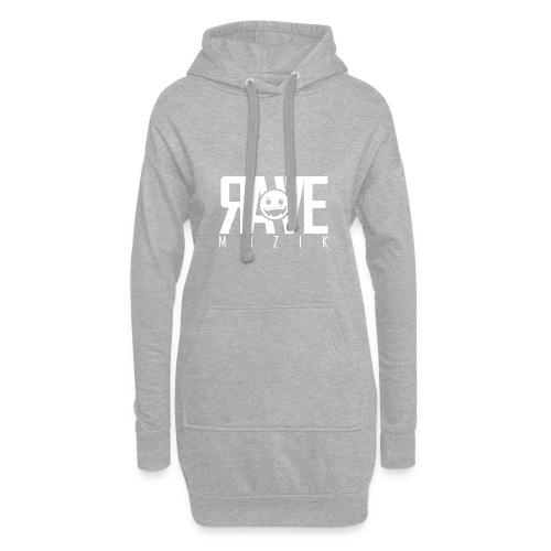 Rave MUZIK Logo Wear - Hoodie-Kleid