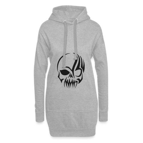 tribals skull - Hoodie-Kleid
