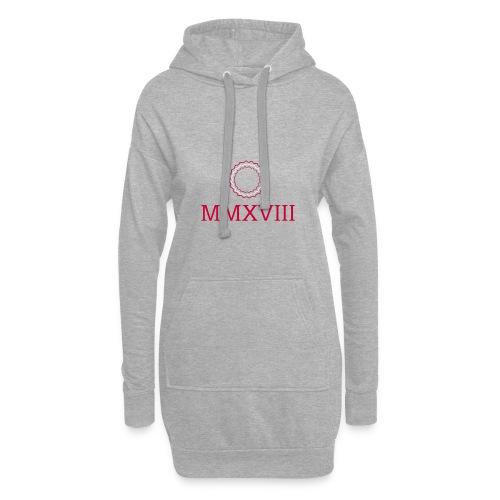 MMXVIII - logo - Sweat-shirt à capuche long Femme