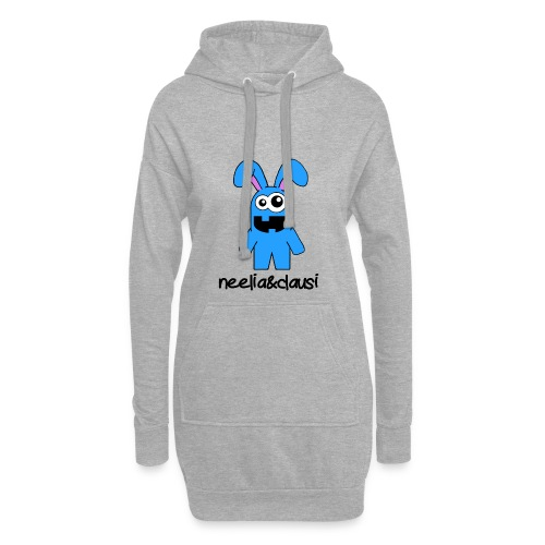 neelia und clausi Logo - Hoodie-Kleid