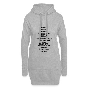 Hip Hop 1-2 - Hoodie Dress