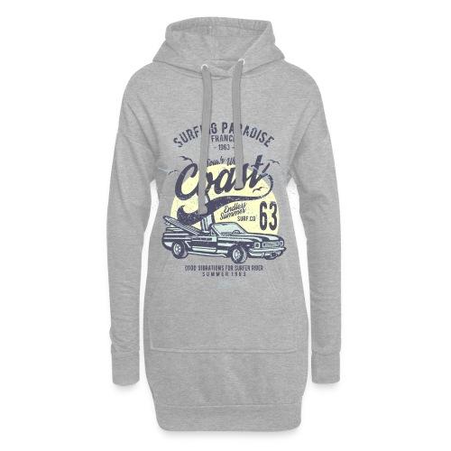 Surf West Coast - Sweat-shirt à capuche long Femme