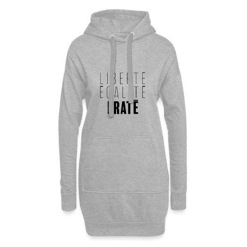 Liberté Egalité Fraté - Sweat-shirt à capuche long Femme