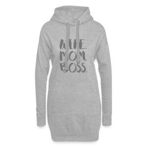 WIFE. MOM. BOSS - Hoodie-Kleid