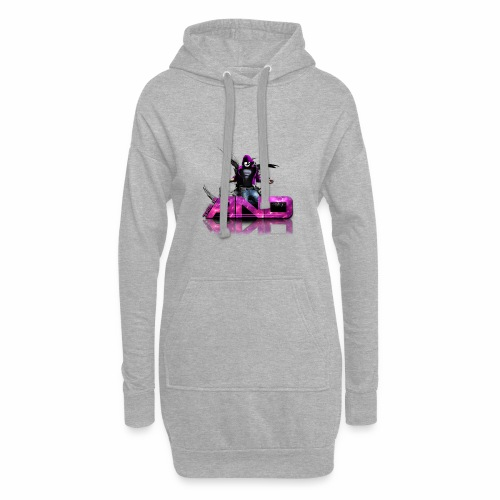 This Is AND - Design Pink - Hoodie-Kleid