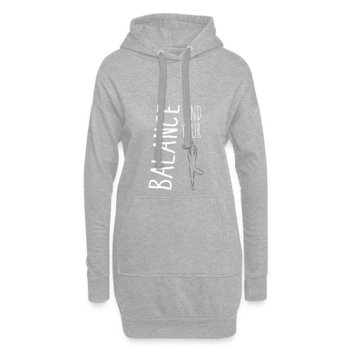 Find Your Balance - Hoodie Dress