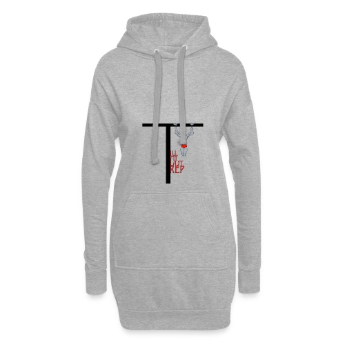 Till My Last Rep Motivational Slogan - Hoodie Dress