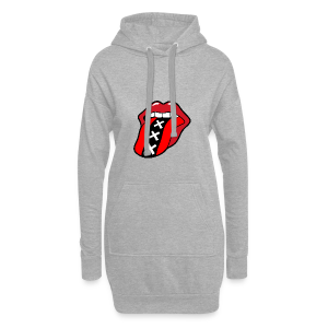 Rock en Roll Mond met een tong en Amsterdam logo - Hoodiejurk