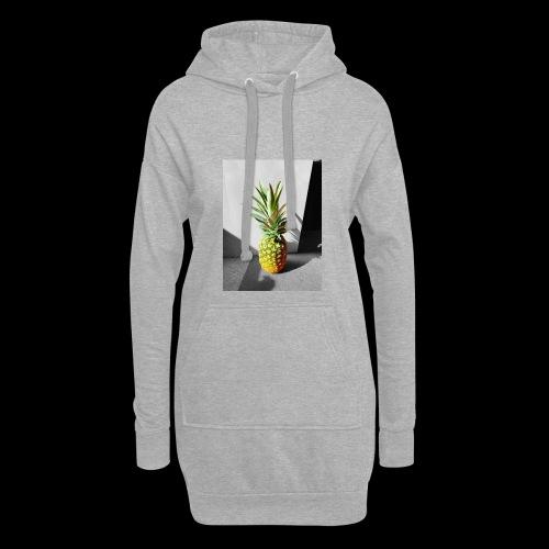 Ananas colorless X colorful - Hoodie-Kleid
