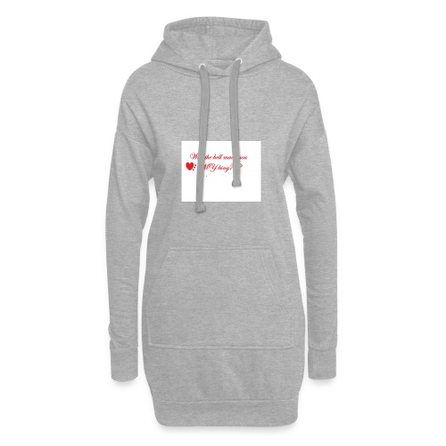 LoveYourselfTheMost - Hoodie Dress