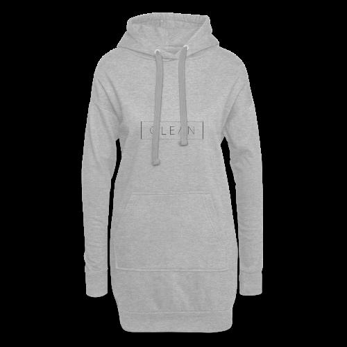 Clean - Hoodie-Kleid