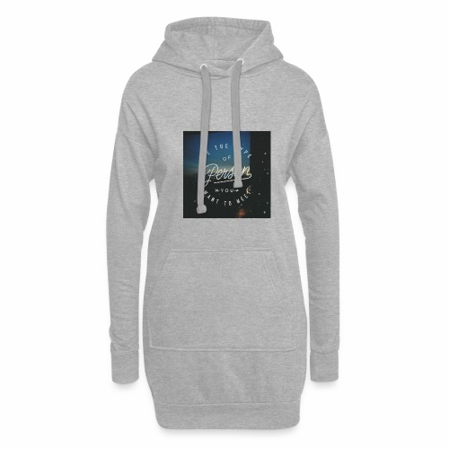 inspirational quote - Hoodie Dress