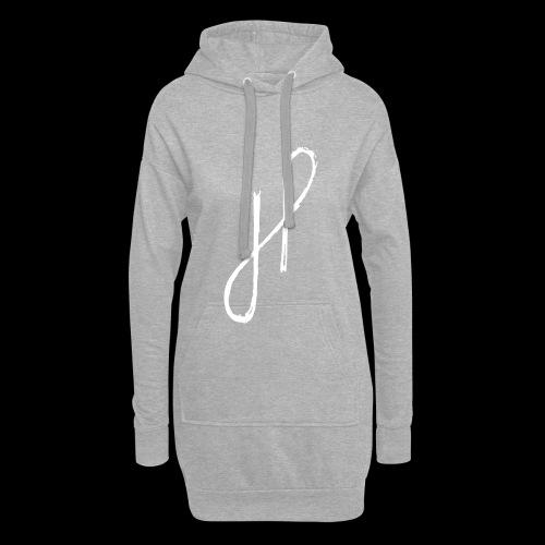 JP Logo Grunge - Hoodie-Kleid