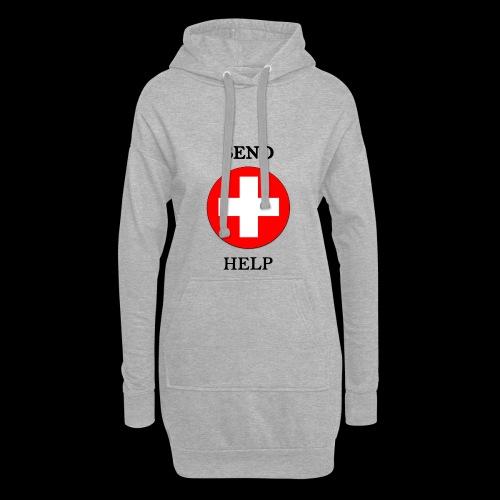SendHelp - Hoodie-Kleid