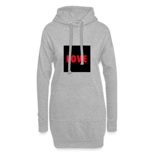 Love - Hoodie-Kleid