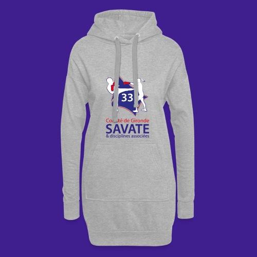 Comité Savate 33 - Sweat-shirt à capuche long Femme