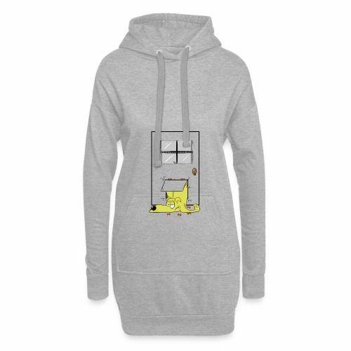 Stuck in a door dog - Hoodie Dress