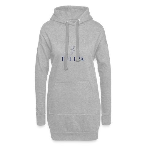 felipa Logo print - Hoodie-Kleid