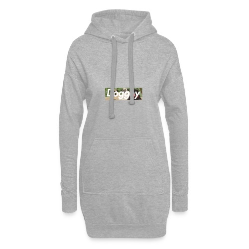 Doggey Pug Box Logo - Hoodie Dress