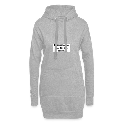 Motivationsspruch - Hoodie-Kleid