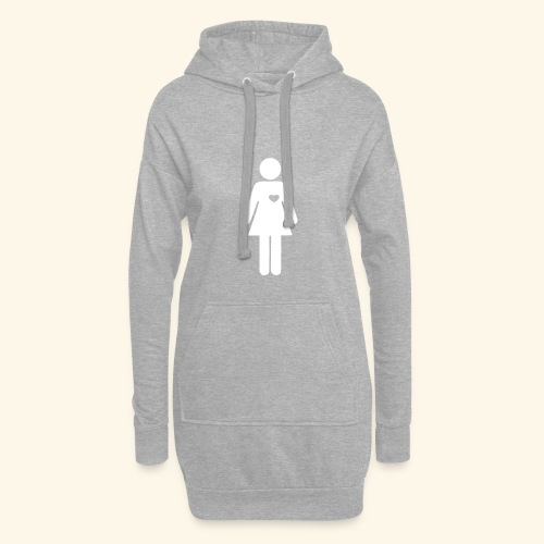 Pictogram woman women - Hoodie Dress