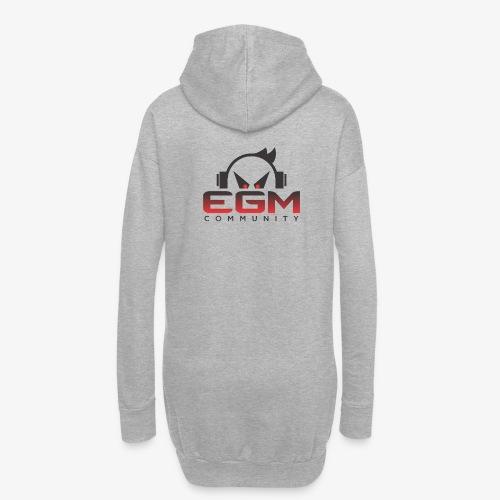 Logo EGM-Community - Sweat-shirt à capuche long Femme