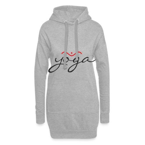 Yoga Balancing Typography And Emblem 1 - Hoodie-Kleid