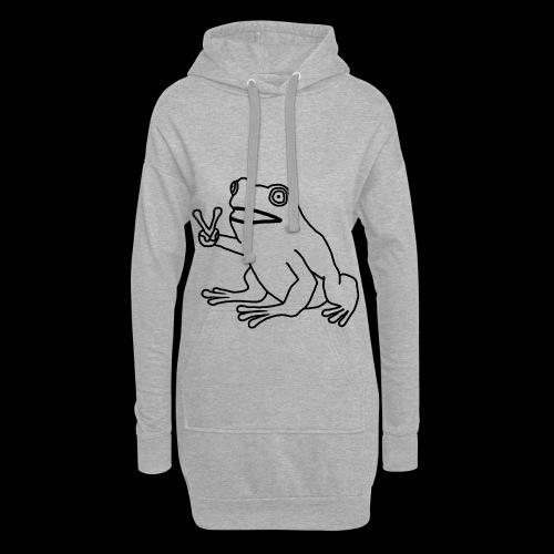 Funny Animal Frog Frosch - Hoodie-Kleid