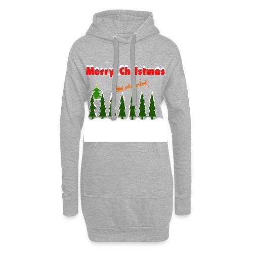 Merry christmass - Vestitino con cappuccio