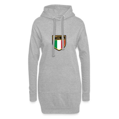 SCUDETTO ITALIA CALCIO - Vestitino con cappuccio