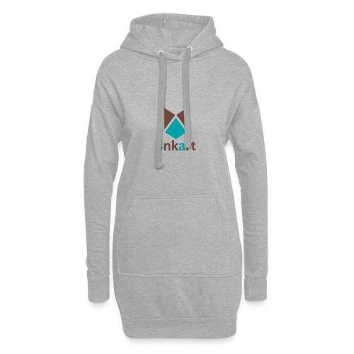 logo 4nkart - Sweat-shirt à capuche long Femme