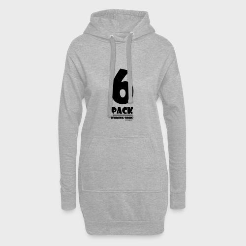 6 Pack - Hoodie-Kleid