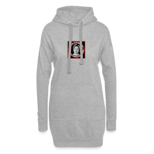 Don't Vote Hilary - Hoodie Dress