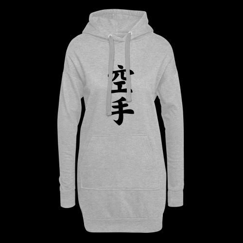 karate - Długa bluza z kapturem