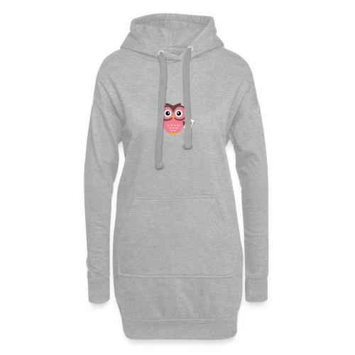 Back to School Owl - Hoodie Dress