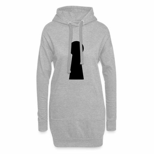 Schlüsselloch - Hoodie-Kleid