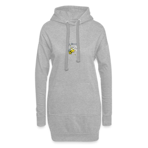 Save the bees with this cute design! Red de bij - Hoodiejurk