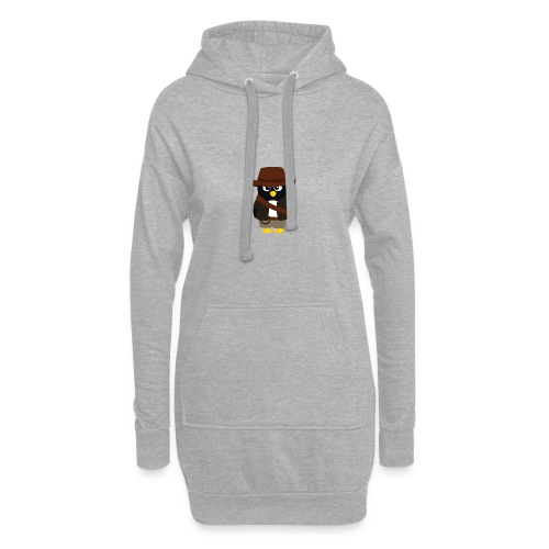 Pingouin Indiana - Sweat-shirt à capuche long Femme